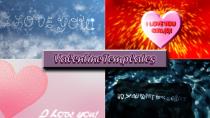 Valentine templates